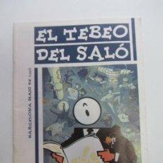 BDs: EL TEBEO DEL SALO MAIG 1992 MAYO / SALO INTERNACIONAL DEL COMIC DE BARCELONA CX69. Lote 215731536
