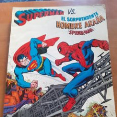 Tebeos: SUPERMAN VS SPIDERMAN. NOVARO. Lote 215810466