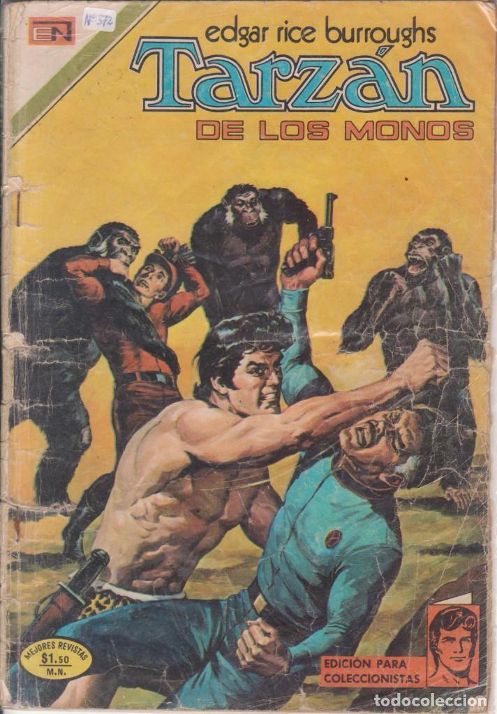 "CÓMIC ""TARZAN"" Nº 372 ED. NOVARO (FORMATO AMERICANO) COLOR 1973 (Tebeos y Comics - Novaro - Tarzán)"