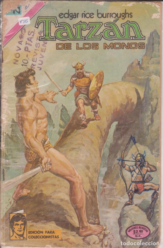 "CÓMIC ""TARZAN"" Nº 385 ED. NOVARO (FORMATO AMERICANO) COLOR 1973 (Tebeos y Comics - Novaro - Tarzán)"