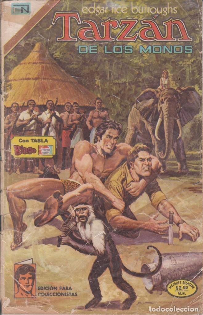 "CÓMIC ""TARZAN"" Nº 426 ED. NOVARO (FORMATO AMERICANO) COLOR 1974 (Tebeos y Comics - Novaro - Tarzán)"