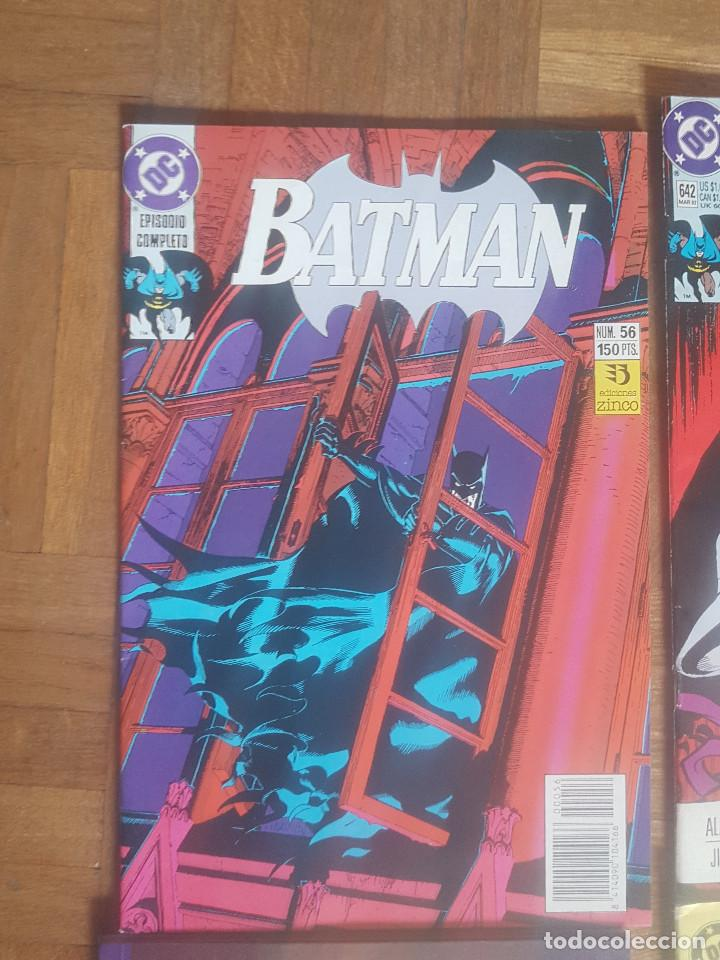 Tebeos: Lote comics Batman 90s Gotham luz de gas Originales Batman vs Predator Alan Grant,Jim Aparo - Foto 2 - 170874015