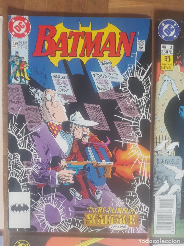 Tebeos: Lote comics Batman 90s Gotham luz de gas Originales Batman vs Predator Alan Grant,Jim Aparo - Foto 4 - 170874015
