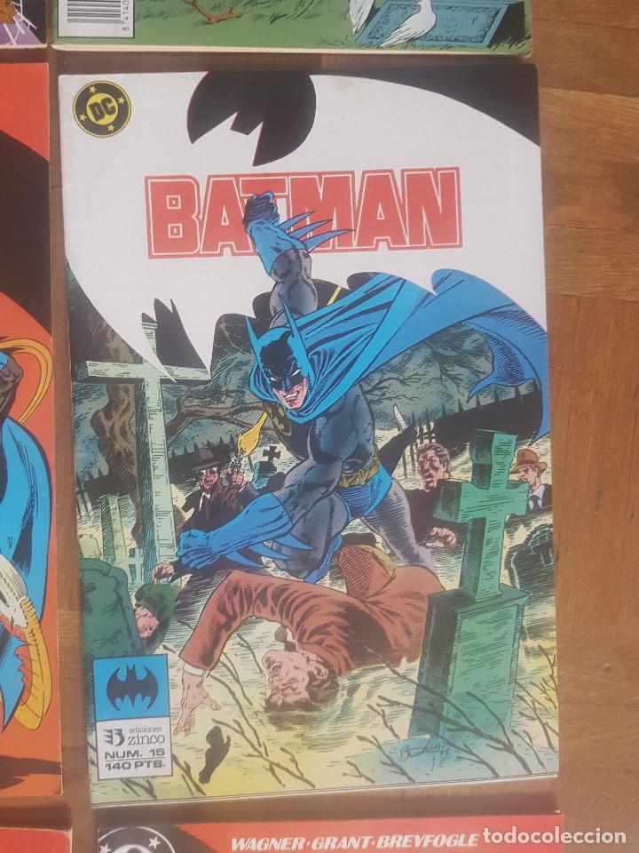 Tebeos: Lote comics Batman 90s Gotham luz de gas Originales Batman vs Predator Alan Grant,Jim Aparo - Foto 6 - 170874015