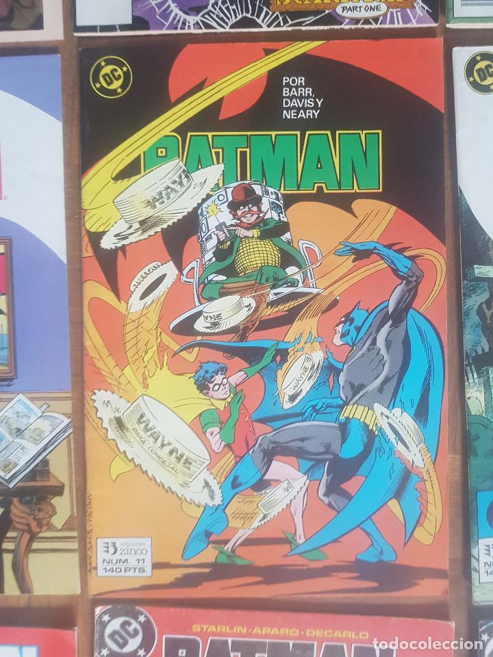 Tebeos: Lote comics Batman 90s Gotham luz de gas Originales Batman vs Predator Alan Grant,Jim Aparo - Foto 7 - 170874015
