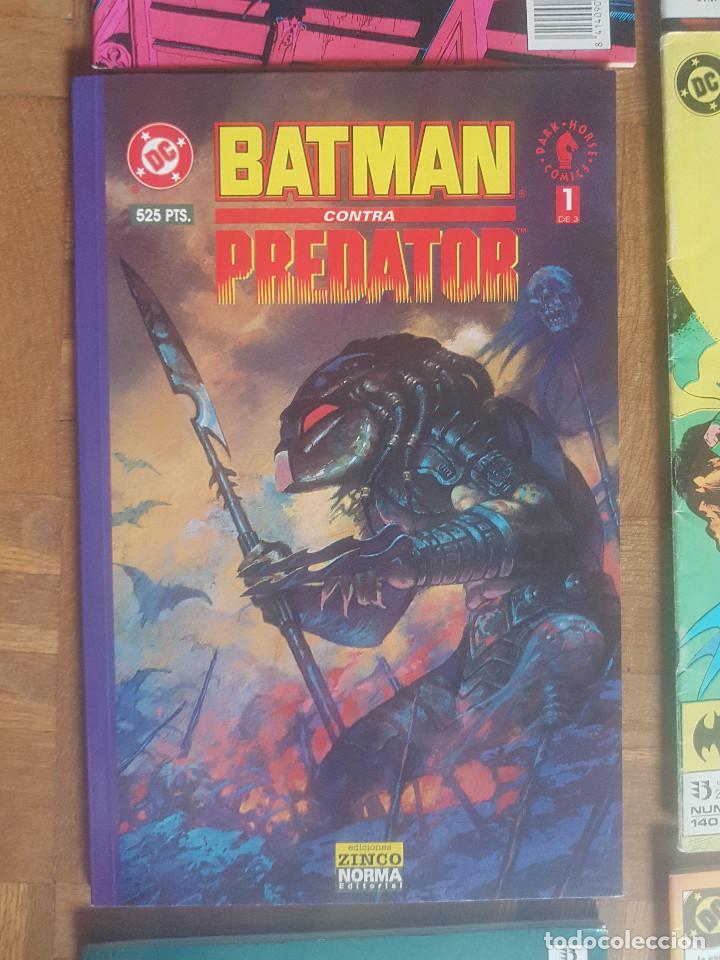 Tebeos: Lote comics Batman 90s Gotham luz de gas Originales Batman vs Predator Alan Grant,Jim Aparo - Foto 10 - 170874015