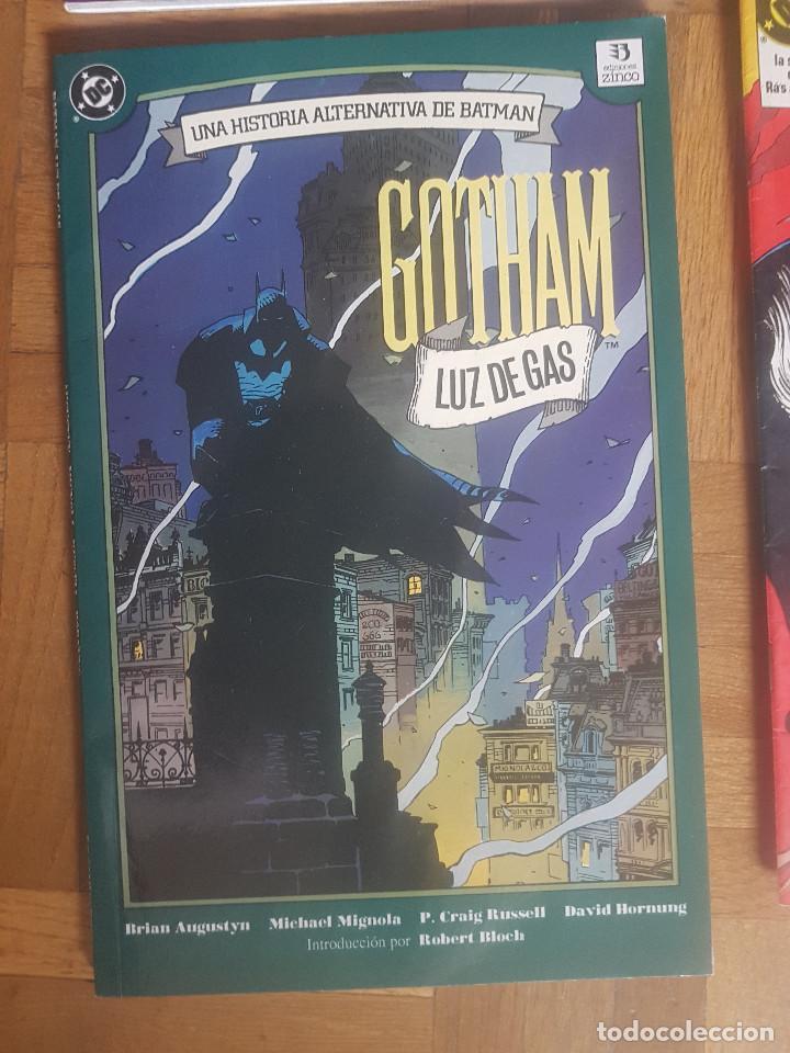 Tebeos: Lote comics Batman 90s Gotham luz de gas Originales Batman vs Predator Alan Grant,Jim Aparo - Foto 11 - 170874015