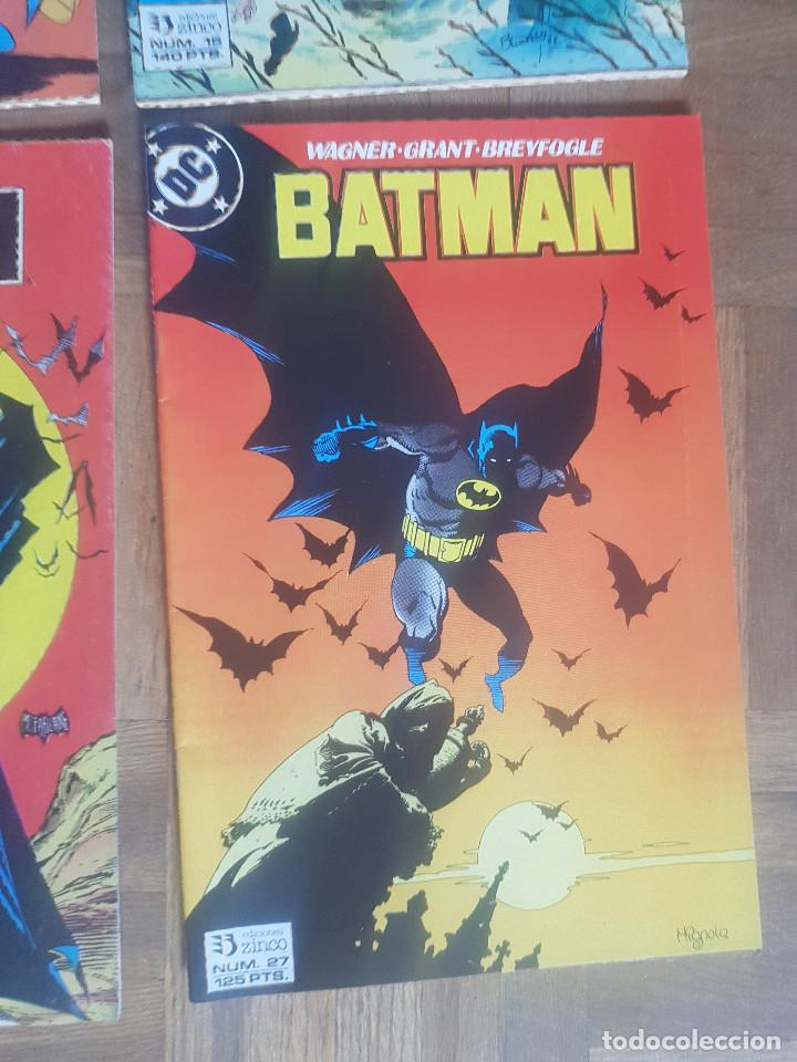 Tebeos: Lote comics Batman 90s Gotham luz de gas Originales Batman vs Predator Alan Grant,Jim Aparo - Foto 15 - 170874015