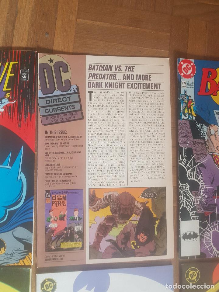 Tebeos: Lote comics Batman 90s Gotham luz de gas Originales Batman vs Predator Alan Grant,Jim Aparo - Foto 16 - 170874015