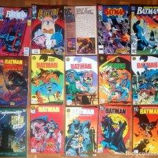 Tebeos: LOTE COMICS BATMAN 90S GOTHAM LUZ DE GAS ORIGINALES BATMAN VS PREDATOR ALAN GRANT,JIM APARO. Lote 170874015