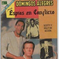 Giornalini: DOMINGOS ALEGRES: ESPÍAS EN CONFLICTO - AÑO XV - Nº 764 - NOV. 17 DE 1968 ** EDITORIAL NOVARO **. Lote 216490692