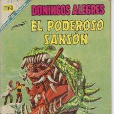 Giornalini: DOMINGOS ALEGRES: EL PODEROSO SANSÓN - AÑO XV - Nº 763 - NOV. 10 DE 1968 ** EDITORIAL NOVARO **. Lote 216490870