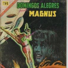Tebeos: DOMINGOS ALEGRES: MAGNUS - AÑO XIV - Nº 689 - JUN. 11 DE 1967 ** EDITORIAL NOVARO **. Lote 216491626