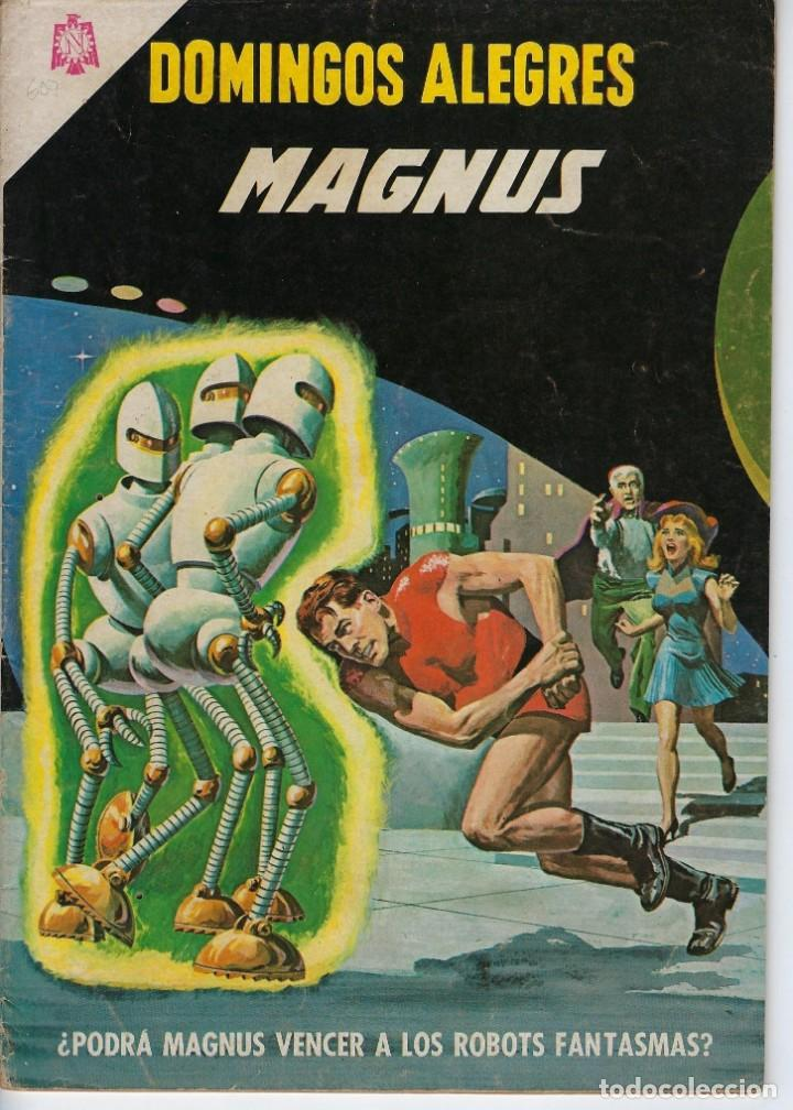 DOMINGOS ALEGRES: MAGNUS - AÑO XII - Nº 607 - NOV. 14 DE 1965 ** EDITORIAL NOVARO ** (Tebeos y Comics - Novaro - Domingos Alegres)