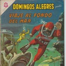 Giornalini: DOMINGOS ALEGRES: VIAJE AL FONDO DEL MAR - AÑO XII - Nº 601 - OCT. 3 DE 1965 ** EDITORIAL NOVARO **. Lote 216493685