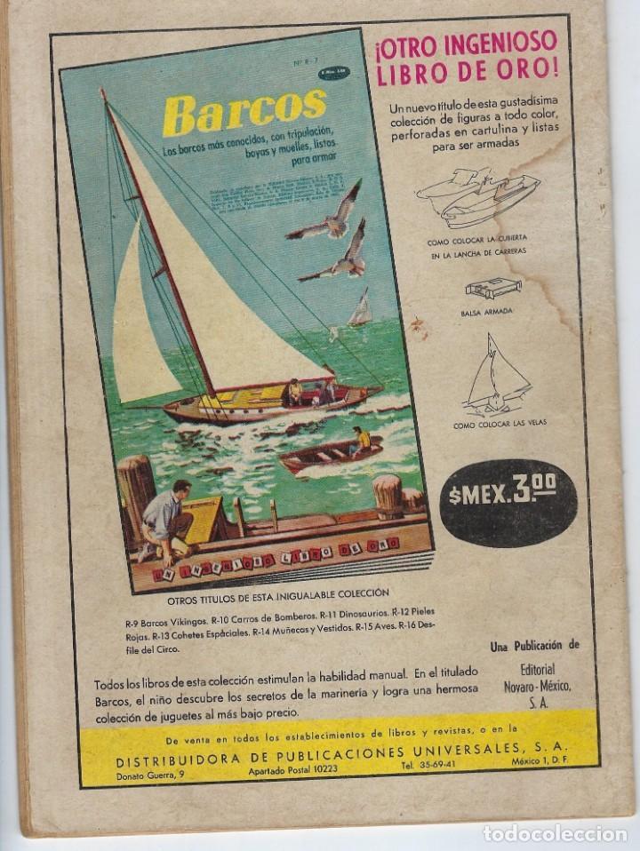 Tebeos: DOMINGOS ALEGRES: EL DOCTOR SOLAR - AÑO XI - Nº 534 - JUNIO 21 DE 1964 * EDITORIAL NOVARO - SEA * - Foto 2 - 216540223