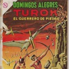 Tebeos: DOMINGOS ALEGRES: TUROK EL GUERRERO...AÑO XI - Nº 529 - MAYO 17 DE 1964 * EDITORIAL NOVARO - SEA *. Lote 216540498