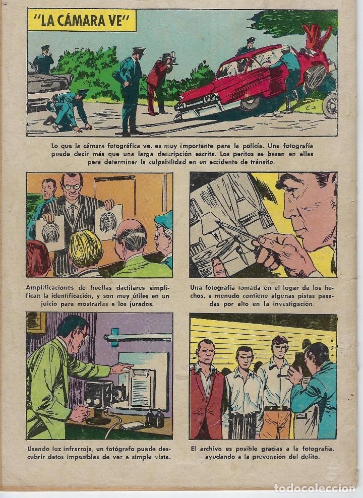 Tebeos: DOMINGOS ALEGRES: LOS DETECTIVES - AÑO IX - Nº 466 - MARZO 3 DE 1963 * EDITORIAL NOVARO - SEA * - Foto 2 - 216542098