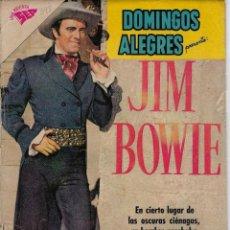 Tebeos: DOMINGOS ALEGRES: JIM BOWIE - AÑO VII - Nº 348 - NOV. 27 DE 1960 * EDITORIAL NOVARO - SEA *. Lote 216545983
