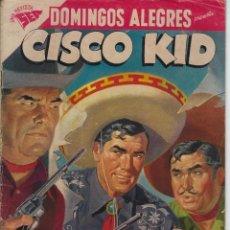 Giornalini: DOMINGOS ALEGRES: CISCO KID - AÑO IV - Nº 202 - FEB. 9 DE 1958 *EDITORIAL NOVARO - SEA *. Lote 216552243