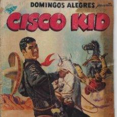 Giornalini: DOMINGOS ALEGRES: CISCO KID - AÑO IV - Nº 175 - AGO. 4 DE 1957 * EDITORIAL NOVARO - SEA *. Lote 216552691