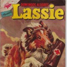 Giornalini: DOMINGOS ALEGRES: M.G.M LASSIE - AÑO II - Nº 89 - DIC. 11 DE 1955 * EDITORIAL NOVARO - SEA *. Lote 216553377