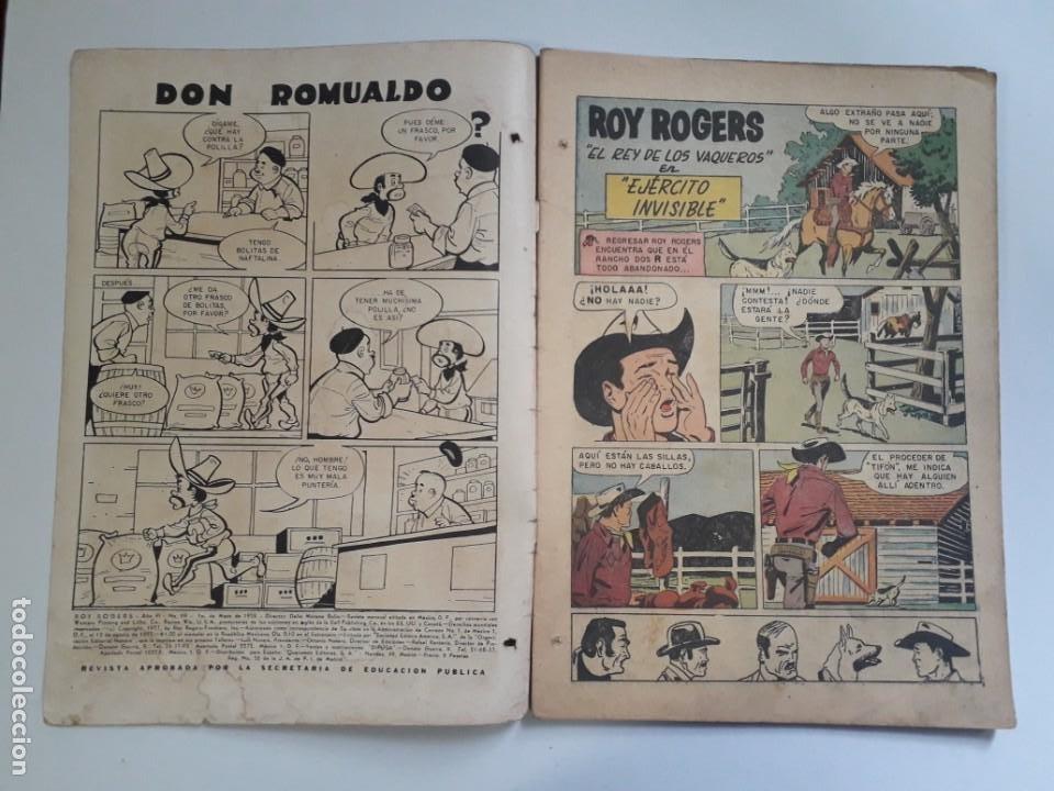 Tebeos: Oportunidad! - Comic en regular estado - Roy Rogers nº 69 - editorial Novaro - Foto 2 - 216623077