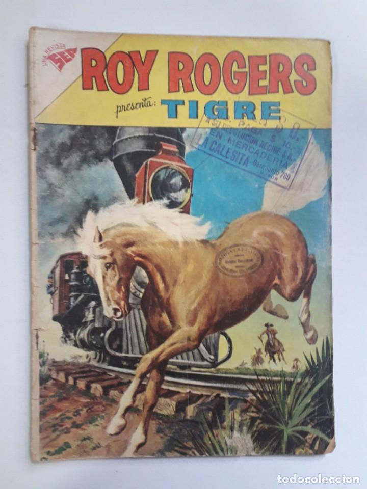 OPORTUNIDAD! - COMIC EN REGULAR ESTADO - ROY ROGERS Nº 115 - EDITORIAL NOVARO (Tebeos y Comics - Novaro - Roy Roger)