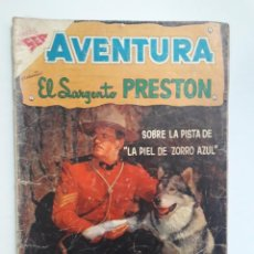 Tebeos: OPORTUNIDAD! - COMIC EN REGULAR ESTADO - AVENTURA Nº 106 - EL SARGENTO PRESTON - EDITORIAL NOVARO. Lote 216624496