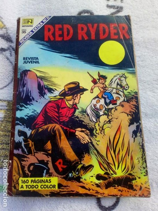 RED RYDER REVISTA EXTRA Nº 8 NOVARO (Tebeos y Comics - Novaro - Red Ryder)