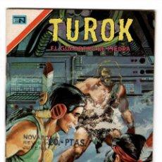 Tebeos: TUROK Nº 2-149 EL GUERRERO DE PIEDRA .- EDITORIAL NOVARO SERIE AGUILA 1977. Lote 217048543