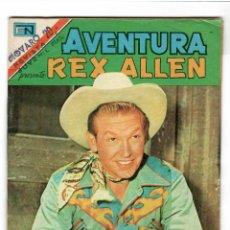 Livros de Banda Desenhada: REX ALLEN Nº 2-927 EDITORIAL NOVARO SERIE AGUILA 1979. Lote 217074663