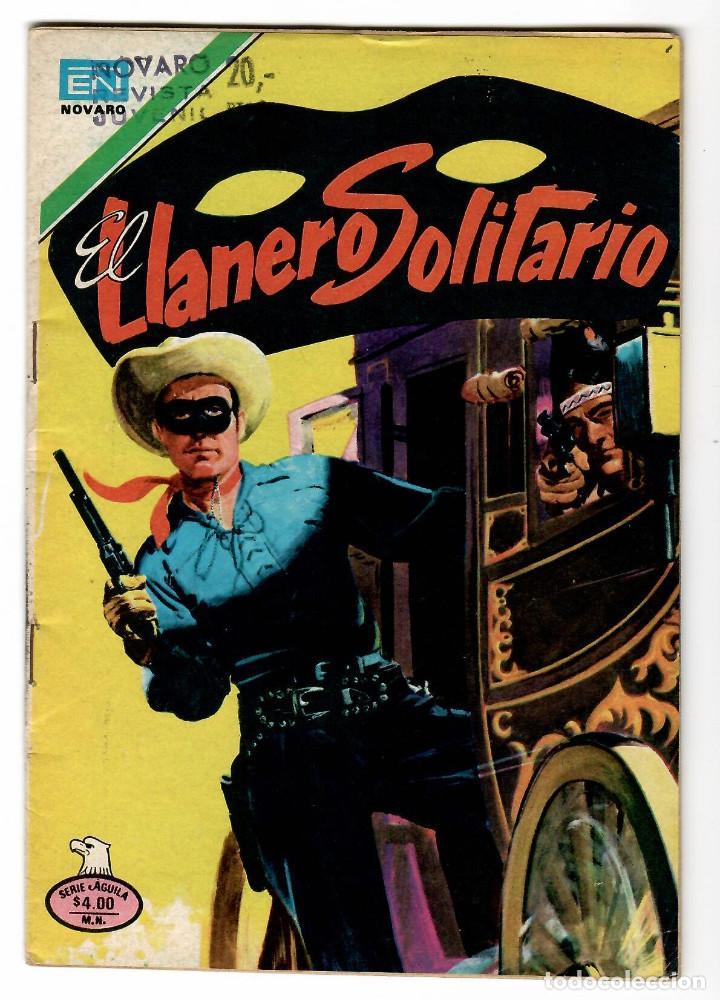 EL LLANERO SOLITARIO Nº 2-444 EDITORIAL NOVARO SERIE AGUILA 1979 (Tebeos y Comics - Novaro - El Llanero Solitario)