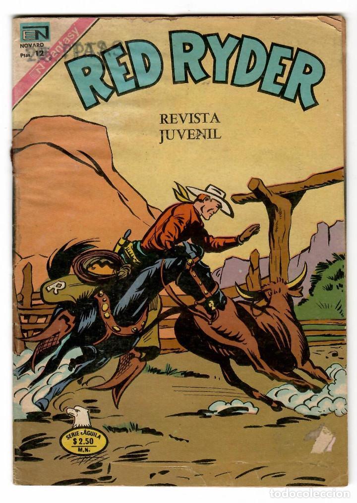 RED RAYDER Nº 2-374 EDITORIAL NOVARO SERIE AGUILA 1976 (Tebeos y Comics - Novaro - Red Ryder)