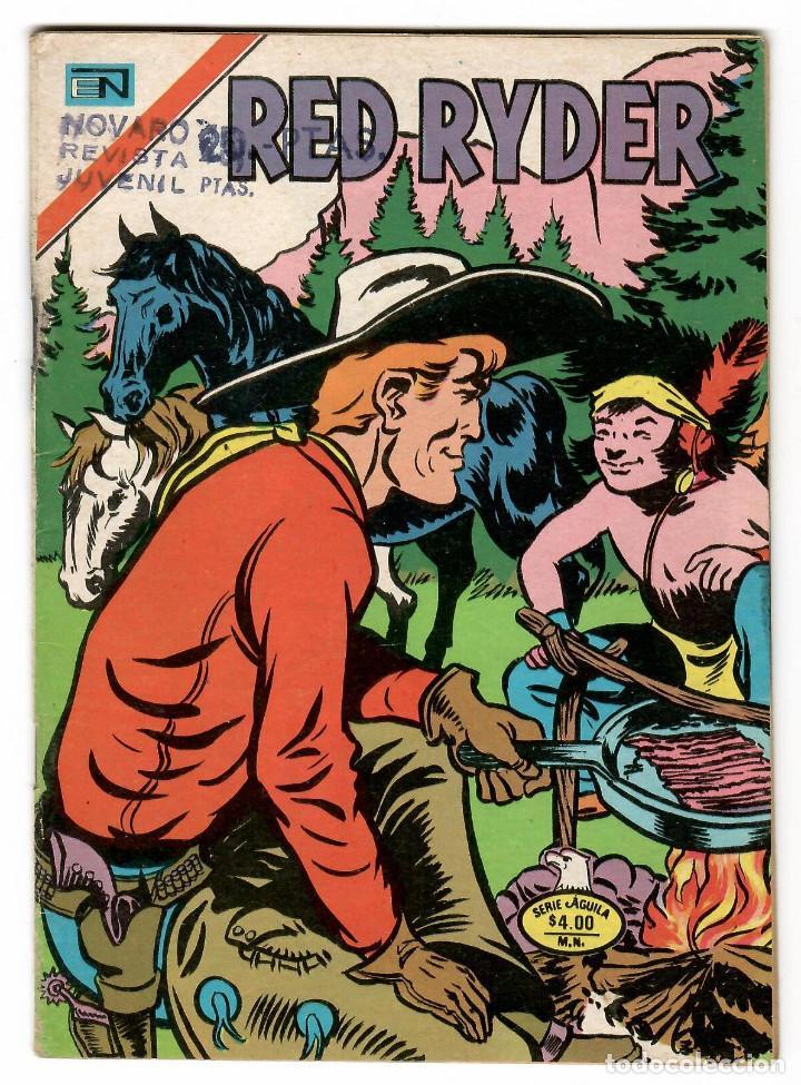 RED RAYDER Nº 2-407 EDITORIAL NOVARO SERIE AGUILA 1977 (Tebeos y Comics - Novaro - Red Ryder)