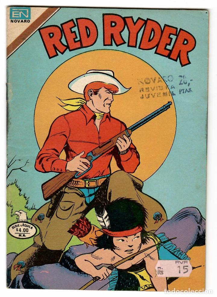 RED RAYDER Nº 2-456 EDITORIAL NOVARO SERIE AGUILA 1979 (Tebeos y Comics - Novaro - Red Ryder)