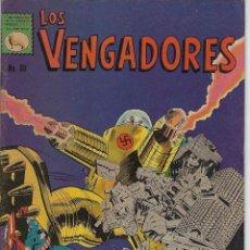 Tebeos: LOS VENGADORES: MARVEL - Nº 69, SEPTIEMBRE 16 DE 1967 ** EDITORA DE PERIÓDICOS, S.C.L,. LA PRENSA **. Lote 217209250