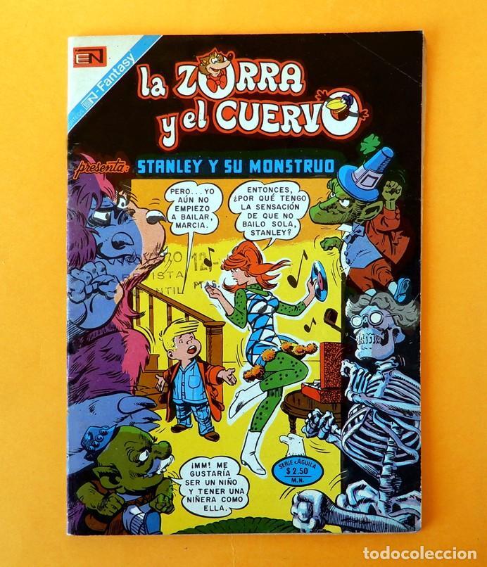 LA ZORRA Y EL CUERVO PRESENTAN; STANLEY Y SU MONSTRUO, Nº 389-SERIE AGUILA, 1976 - NOVARO-ORIGINAL (Tebeos y Comics - Novaro - Otros)