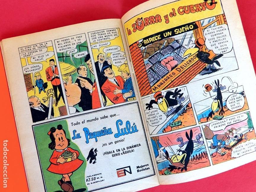 Tebeos: LA ZORRA y EL CUERVO presentan; STANLEY Y SU MONSTRUO, Nº 389-SERIE AGUILA, 1976 - NOVARO-ORIGINAL - Foto 5 - 217233815