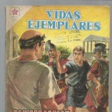 Tebeos: VIDAS EJEMPLARES 60: SAN SEBASTIÁN, SOLDADO Y MÁRTIR, 1959, NOVARO, BUEN ESTADO. Lote 217279447