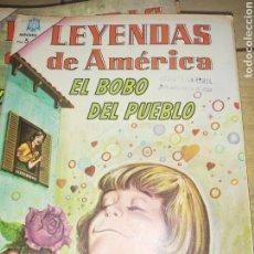 Tebeos: CÓMIC... LEYENDAS DE AMÉRICA DE NOVARO.. SON 16 CÓMIC.. ESTADO. BUENO.. Lote 217297627
