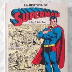 Tebeos: LA HISTORIA DE SUPERMAN - ED. NOVARO - 1979. Lote 229764850
