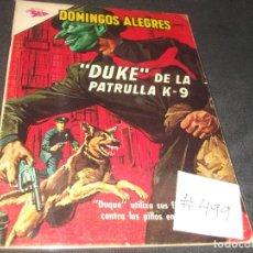 Tebeos: DOMINGOS ALEGRES DUKE DE LA PATRULLA K-9 # 499 MUY BUEN ESTADO. Lote 217483008