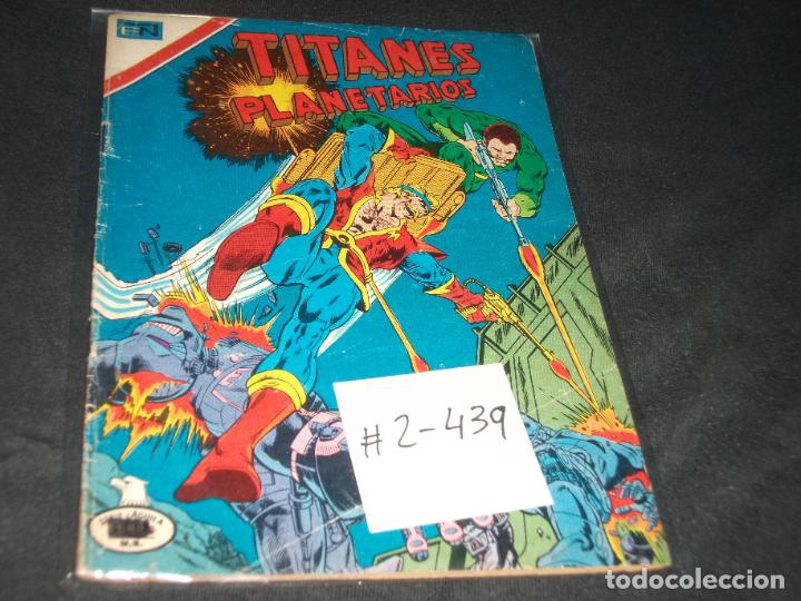 TITANES PLANETARIOS SERIE AGUILA # 2-439 BUEN ESTADO (Tebeos y Comics - Novaro - Sci-Fi)