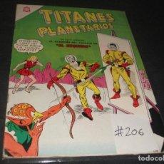 Tebeos: TITANES PLANETARIOS # 206 MUY BUEN ESTADO. Lote 217485470