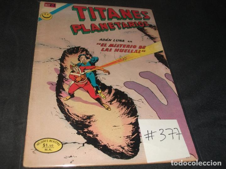 TITANES PLANETARIOS # 377 BUEN ESTADO (Tebeos y Comics - Novaro - Sci-Fi)