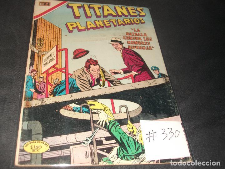 TITANES PLANETARIOS # 330 BUEN ESTADO (Tebeos y Comics - Novaro - Sci-Fi)