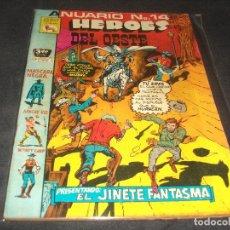 Tebeos: ANUARIO # 14 HEROES DEL OESTE PRENSA BUEN ESTADO. Lote 217486128