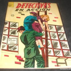 Tebeos: DETECTIVES EN ACCION # 32 EDITORIAL SOL BUEN ESTADO. Lote 217486553