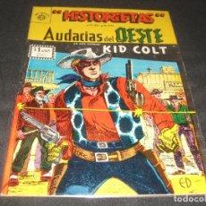 Tebeos: HISTORIETAS AUDACIAS DEL OESTE # 550 EDITORIAL SOL BUEN ESTADO. Lote 217486735